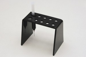 ABS syringe stand